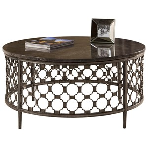 Morris Home Furnishings Brescello  Round Coffee Table