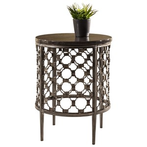 Morris Home Furnishings Brescello  Round End Table
