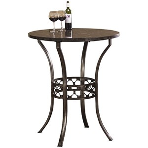 Hillsdale Brescello  Bar Height Bistro Table