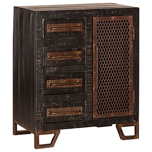 Morris Home Furnishings Bridgewater Cabinet