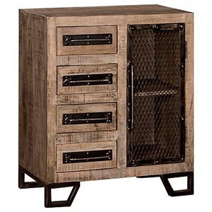 Morris Home Furnishings Bridgewater Accent Cabinet