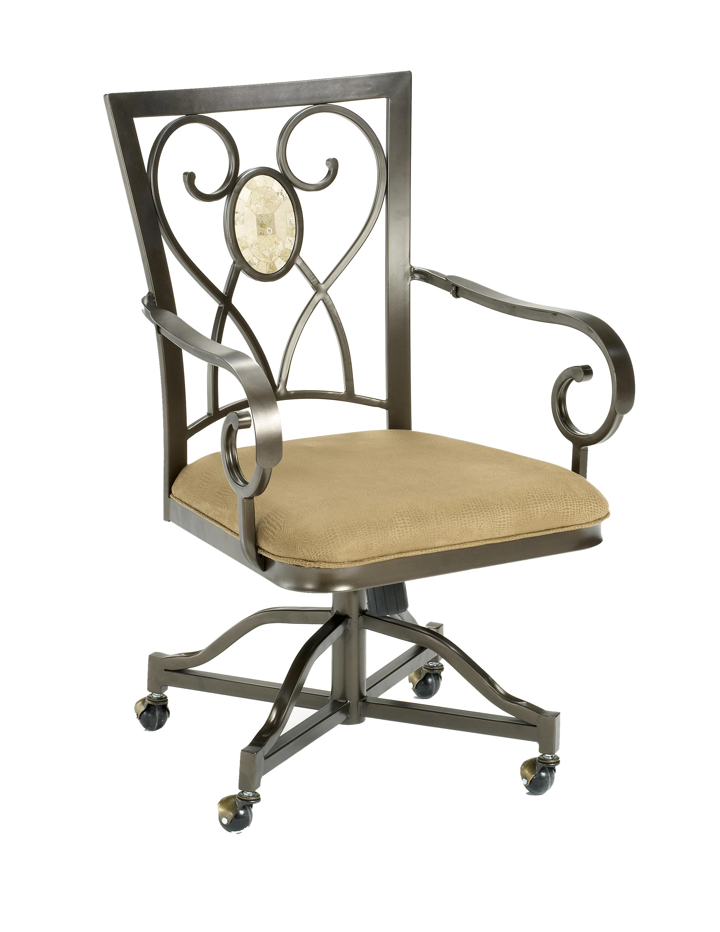 Hillsdale Brookside Oval Caster Chair - Item Number: 4815-804