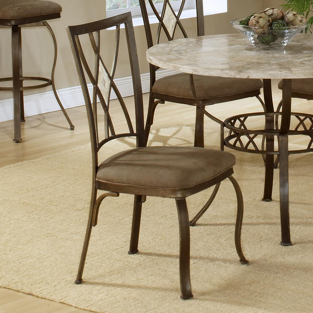 Hillsdale Brookside Diamond Fossil Back Dining Chair - Item Number: 4815-805