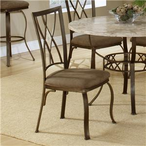 Morris Home Furnishings Brookside Diamond Fossil Back Dining Chair
