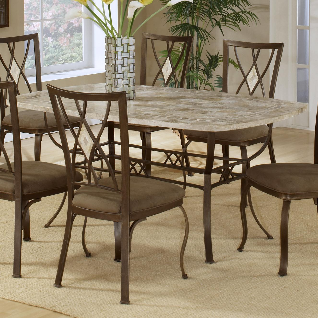Hillsdale Brookside Rectangle Dining Table - Item Number: 4815DTB