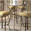 Hillsdale Brookside Bar Height Bistro Table - Item Number: 4815PTB