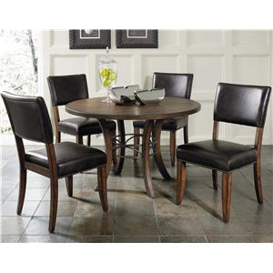 5 Piece Metal Ring Dining Set
