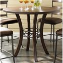Morris Home Furnishings Cameron Round Counter Height Table - Item Number: 4671-837+838
