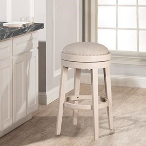 Hillsdale Carlito Backless Swivel Bar Stool