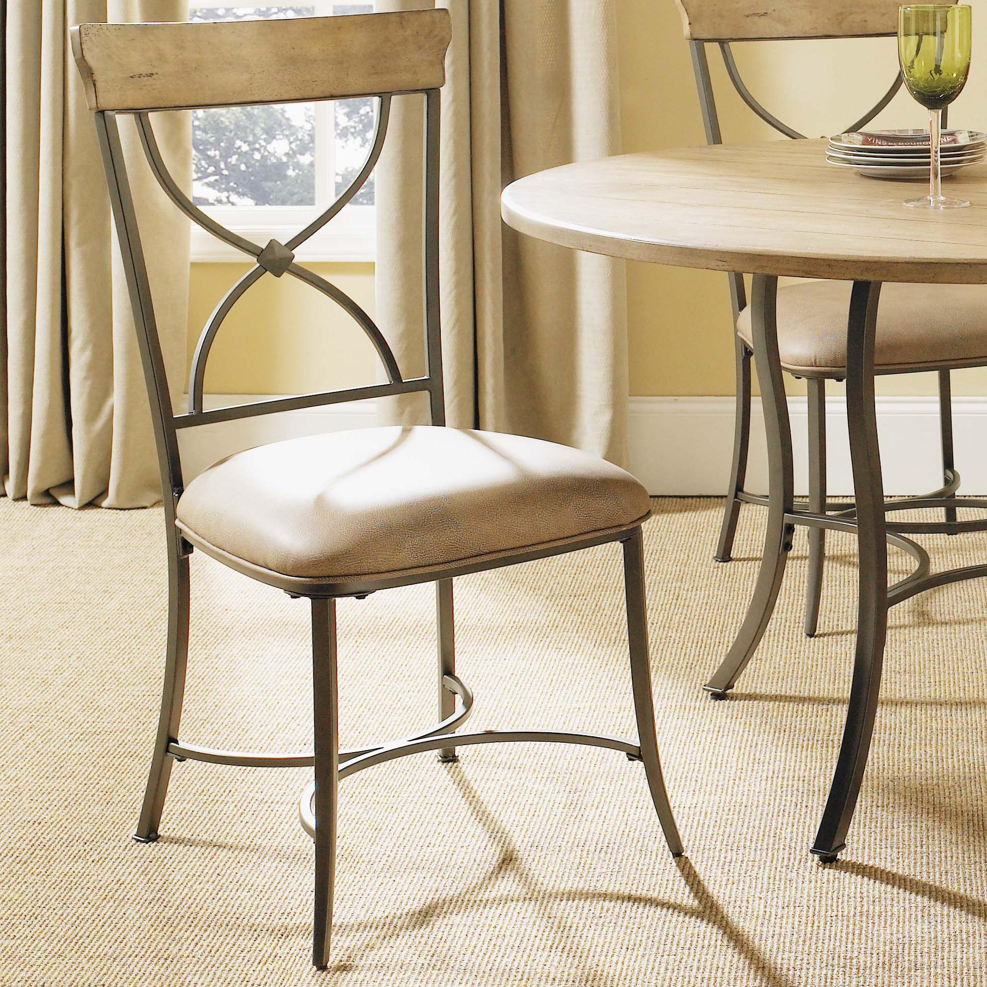Hillsdale Charleston X-Back Dining Chair - Item Number: 4670-802