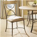 Hillsdale Charleston X-Back Side Dining Chair - 4670-802