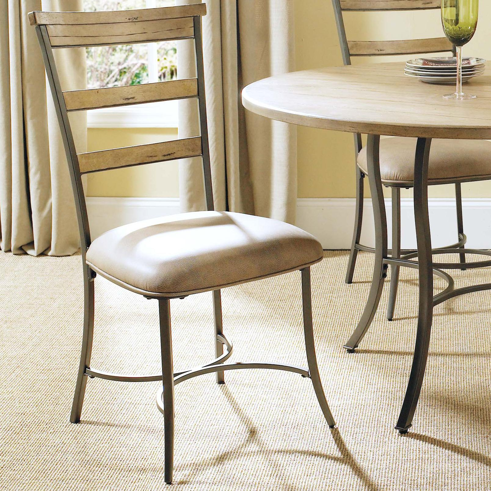 Hillsdale Charleston Ladder Back Dining Chair - Item Number: 4670-805