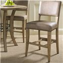 Hillsdale Charleston Parson Non-Swivel Stool - Item Number: 4670-824