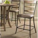 Hillsdale Charleston Ladder Back Non-Swivel Stool - Item Number: 4670-825