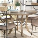 Hillsdale Charleston Round Wood Table - Item Number: 4670DTBW