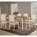 Hillsdale Clarion 7-Piece Dining Set - Item Number: 4542-814+3X802