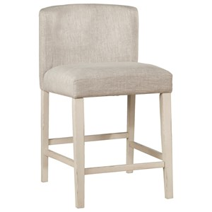 Wing Arm Counter Stools - Set of 2