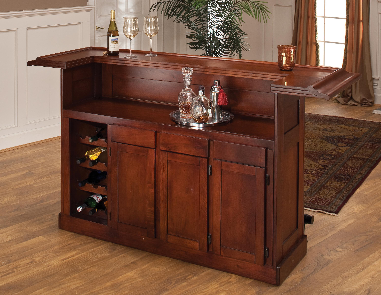 Hillsdale Classic Oak 625 Large Cherry Bar - Item Number: 62578ACHE