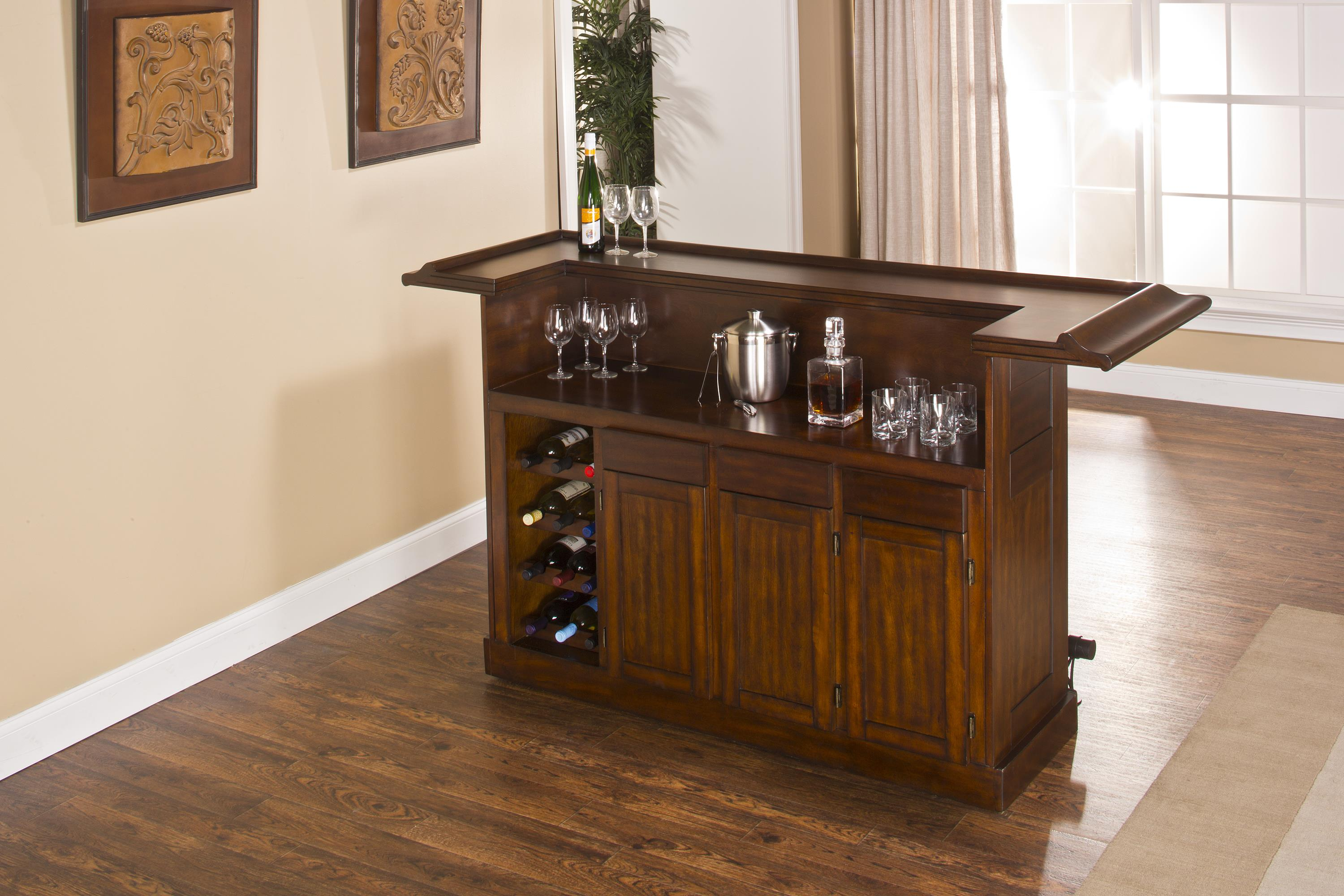 Hillsdale Classic Oak 625 Large Brown Cherry Bar - Item Number: 64028BCHE