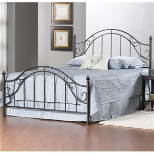 Hillsdale Clayton King Clayton Bed