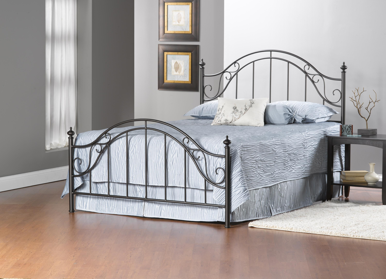 Hillsdale Clayton Bed Set - King - w/Rails - Item Number: 1681BKR