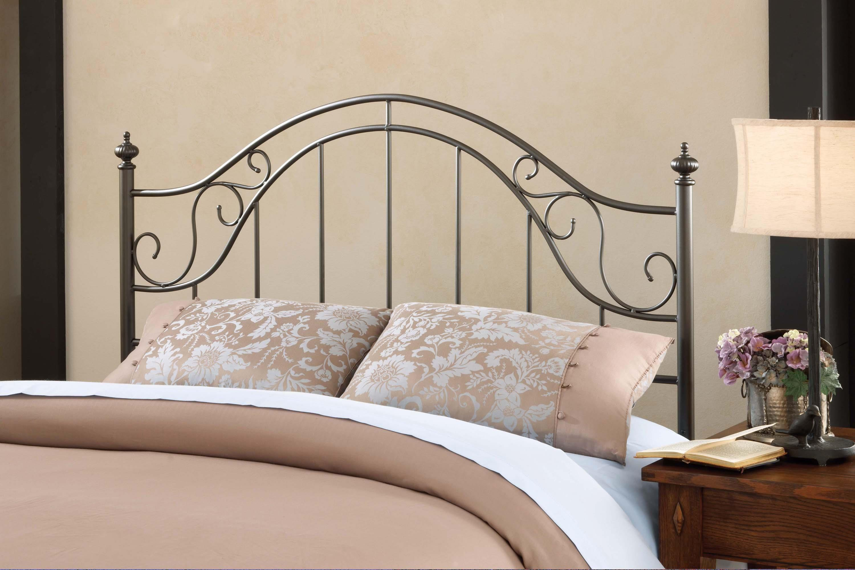 Hillsdale Clayton Headboard - Full/Queen - w/Rails - Item Number: 1681HFQR