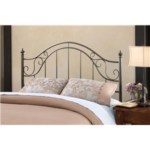Hillsdale Clayton Headboard - King - w/Rails