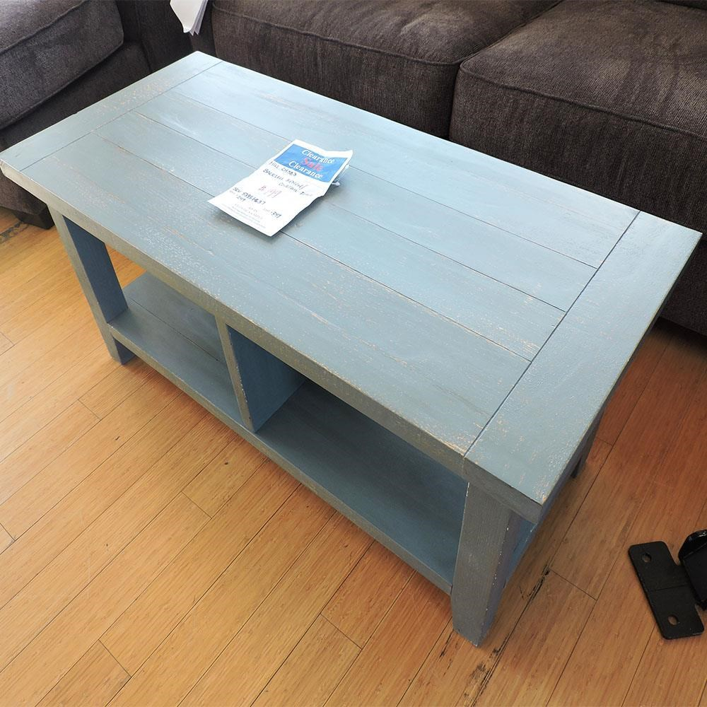 Backless Bench/ Cocktail Table