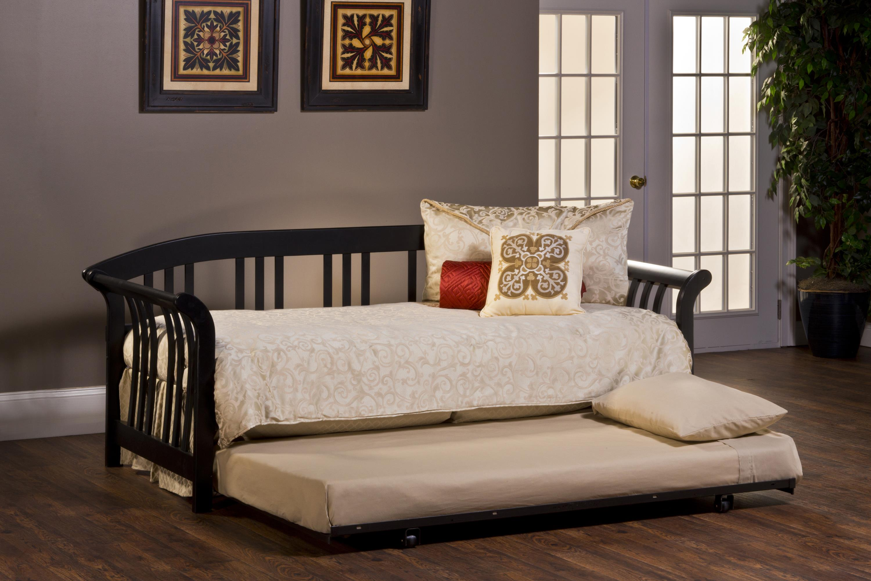 Hillsdale Daybeds Dorchester Daybed with Suspension Deck and T - Item Number: 1046DBLHTR