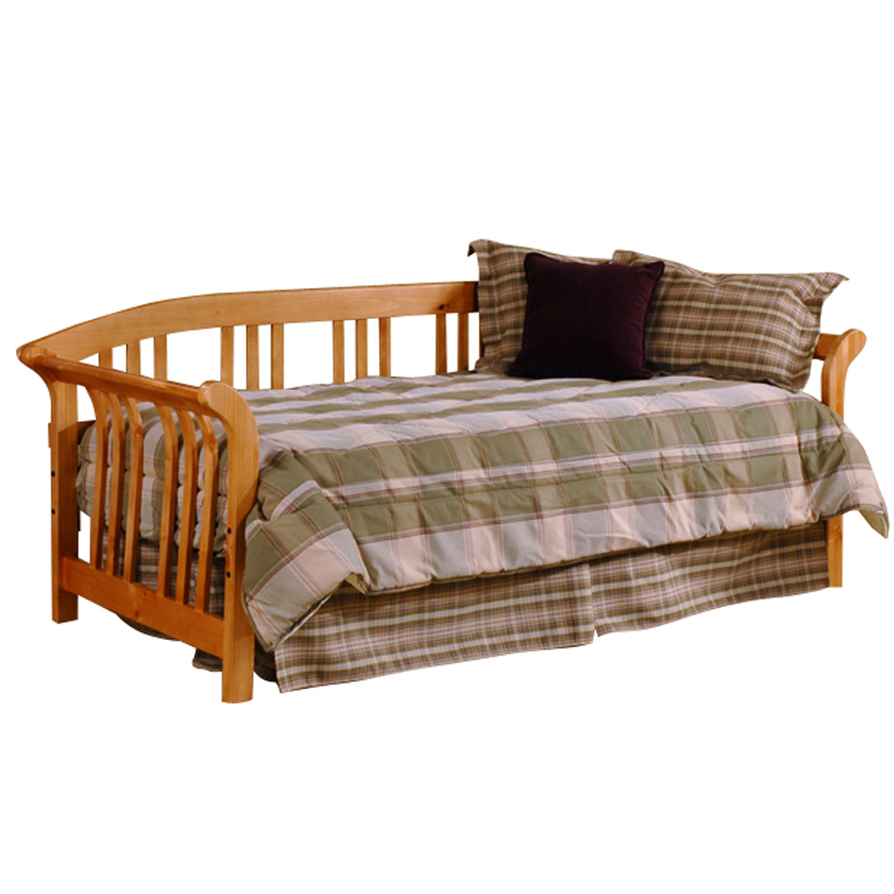 Hillsdale Daybeds Daybed w/Suspension Deck and Trundle - Item Number: 1104DBLHTR