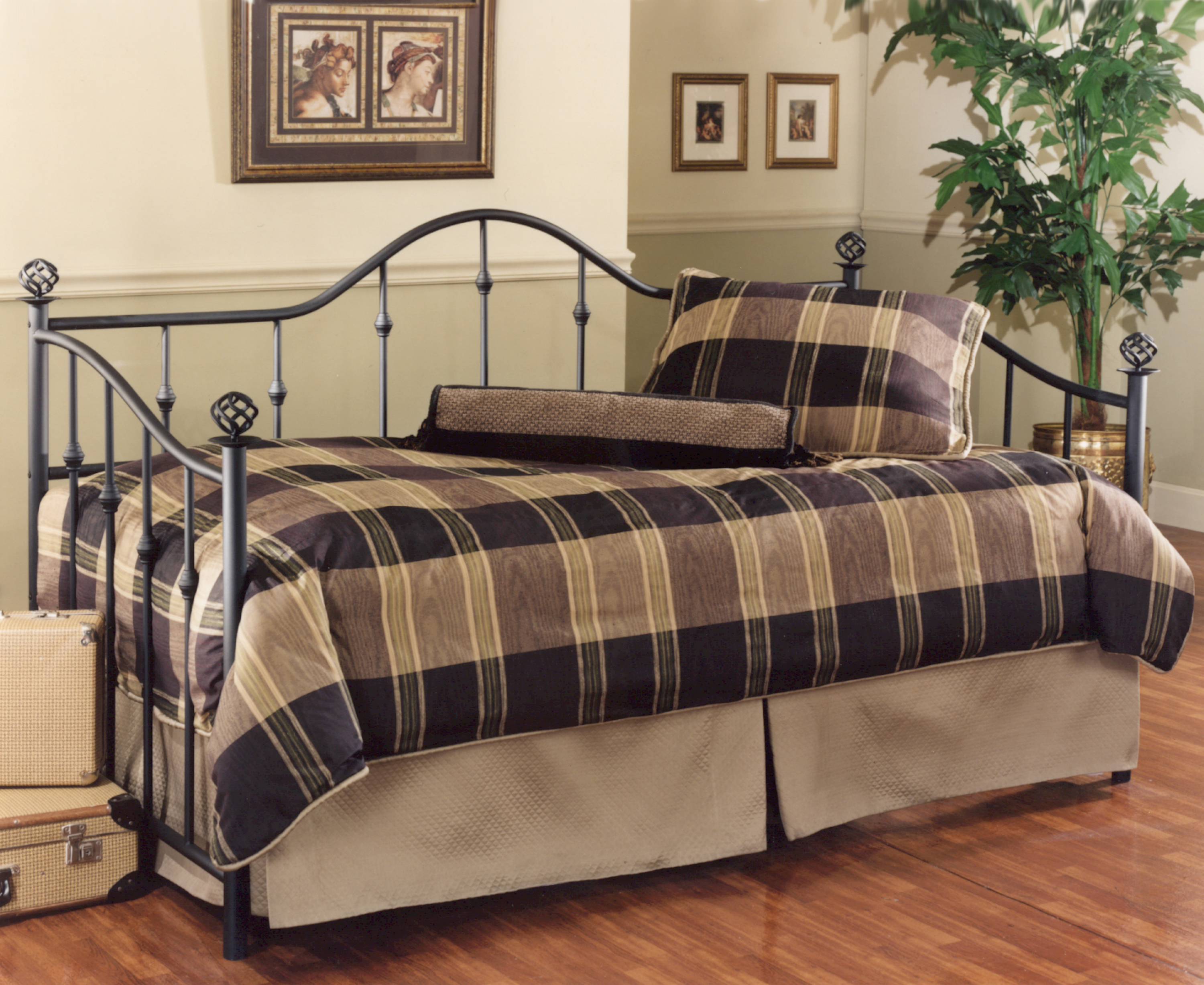 Hillsdale Daybeds Daybed w/Suspension Deck and Trundle - Item Number: 11177DBLHTR