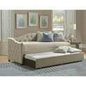 Hillsdale Daybeds Jaylyn Upholstered Daybed w/ Trundle