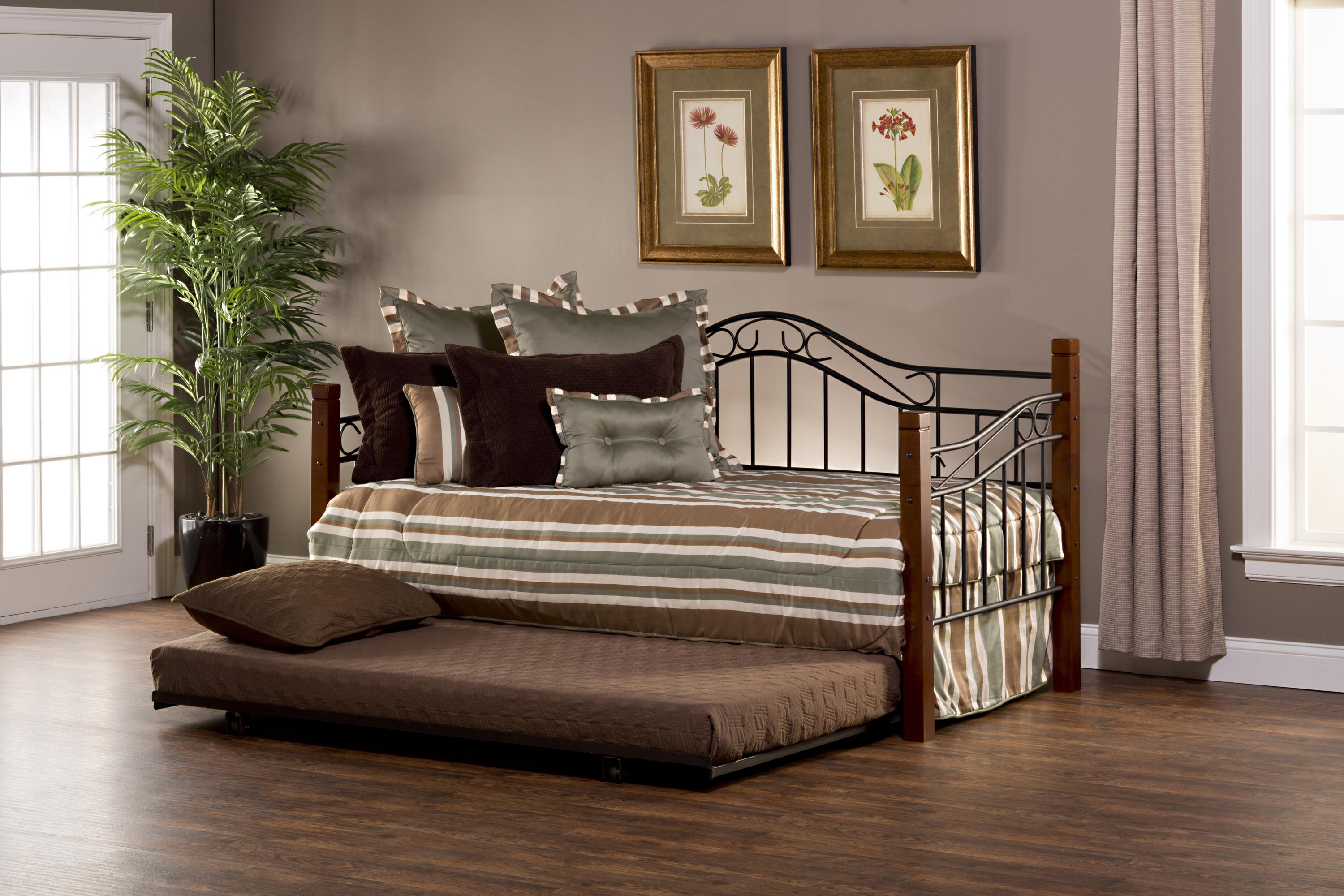 Hillsdale Daybeds Matson Daybed with Suspension Deck and Trund - Item Number: 1159DBLHTR