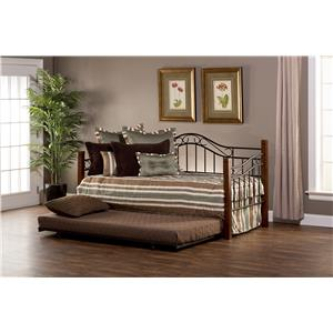 Morris Home Furnishings Daybeds Matson Daybed with Suspension Deck and Trund