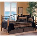 Morris Home Furnishings Daybeds Twin Winsloh Daybed - Item Number: 123DBLHTR