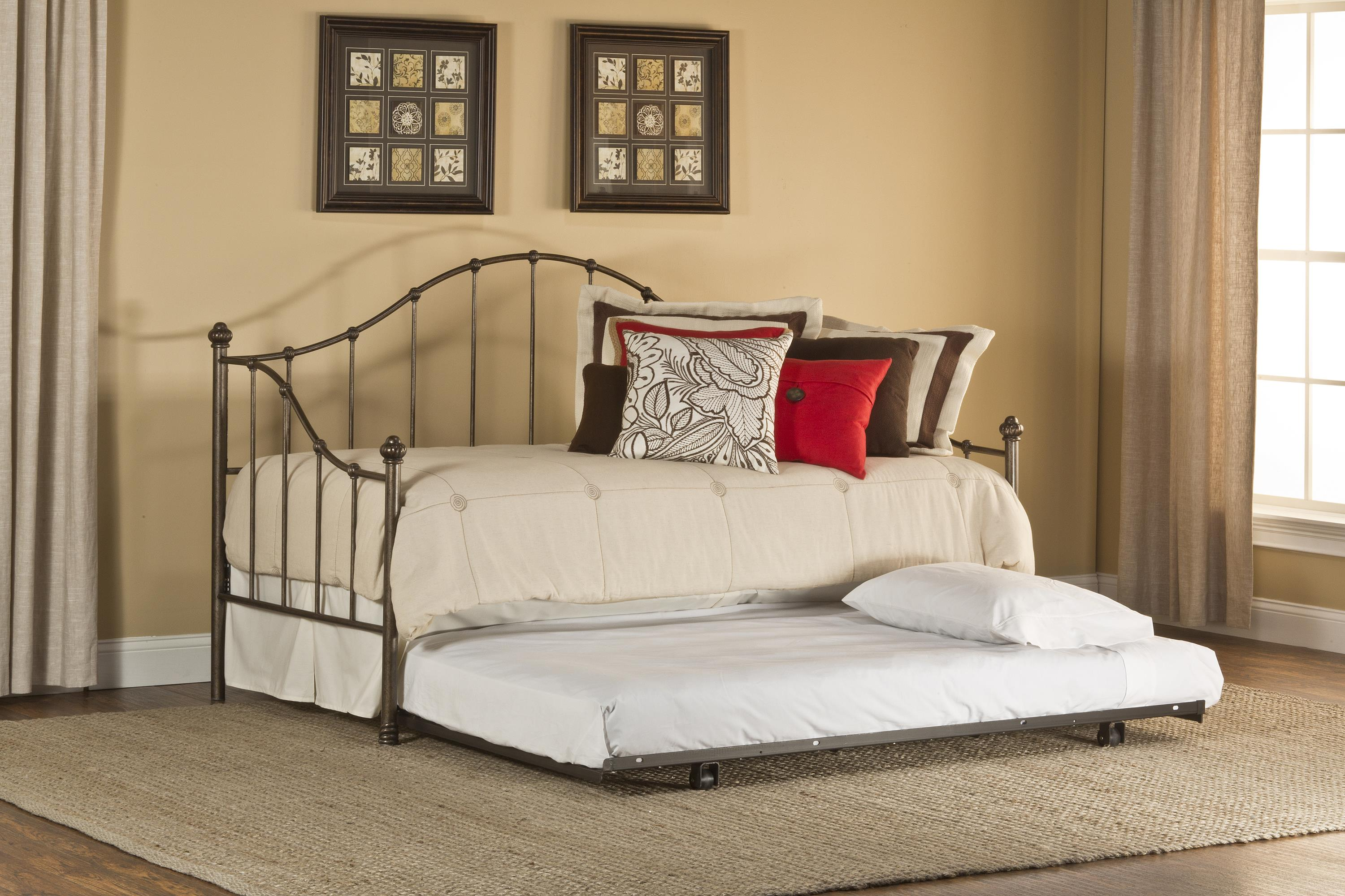 Hillsdale Daybeds Amy Daybed with Suspension Deck and Trundle - Item Number: 1271DBLHTR