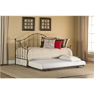Morris Home Daybeds Amy Daybed with Suspension Deck and Trundle