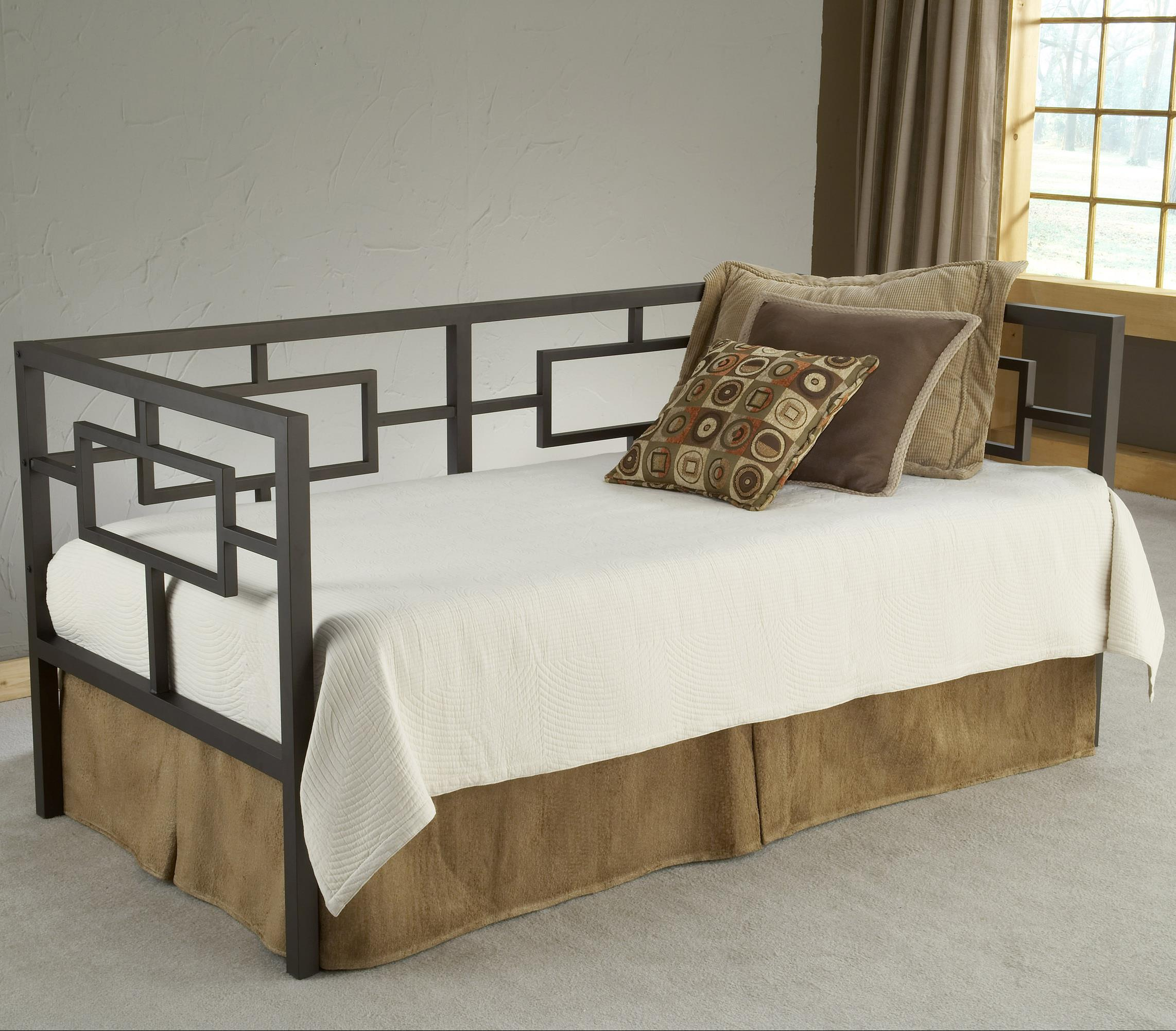 Hillsdale Daybeds Daybed with Suspension Deck and Trundle - Item Number: 1516DBLHTR