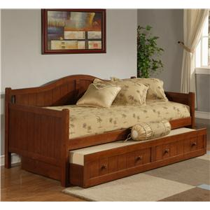 Morris Home Daybeds Twin Staci Daybed with Trundle