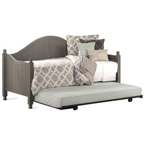Morris Home Furnishings Daybeds Wooden Daybed with Roll-Out Trundle