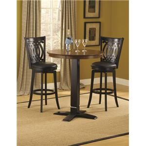 Morris Home Furnishings Dynamic Designs Bar Table and Chairs