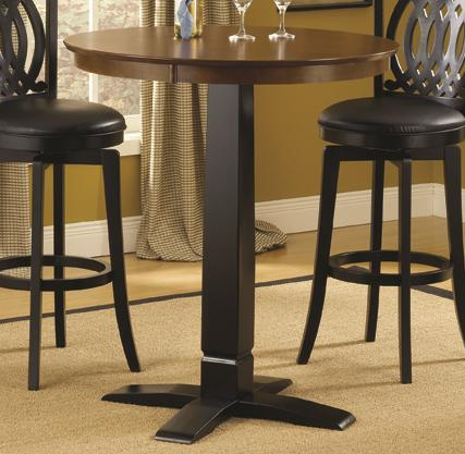Hillsdale Dynamic Designs Bistro Table - Item Number: 4975-840+842