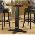 Hillsdale Dynamic Designs Bar Height Bistro Table - 4975-840+842