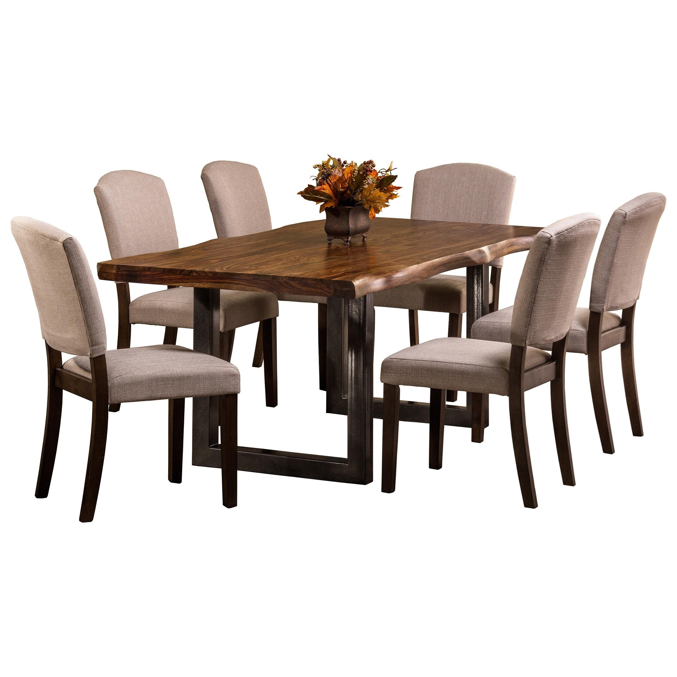 Hillsdale Emerson  7-Piece Rectangle Dining Set - Item Number: 5674DTBC7