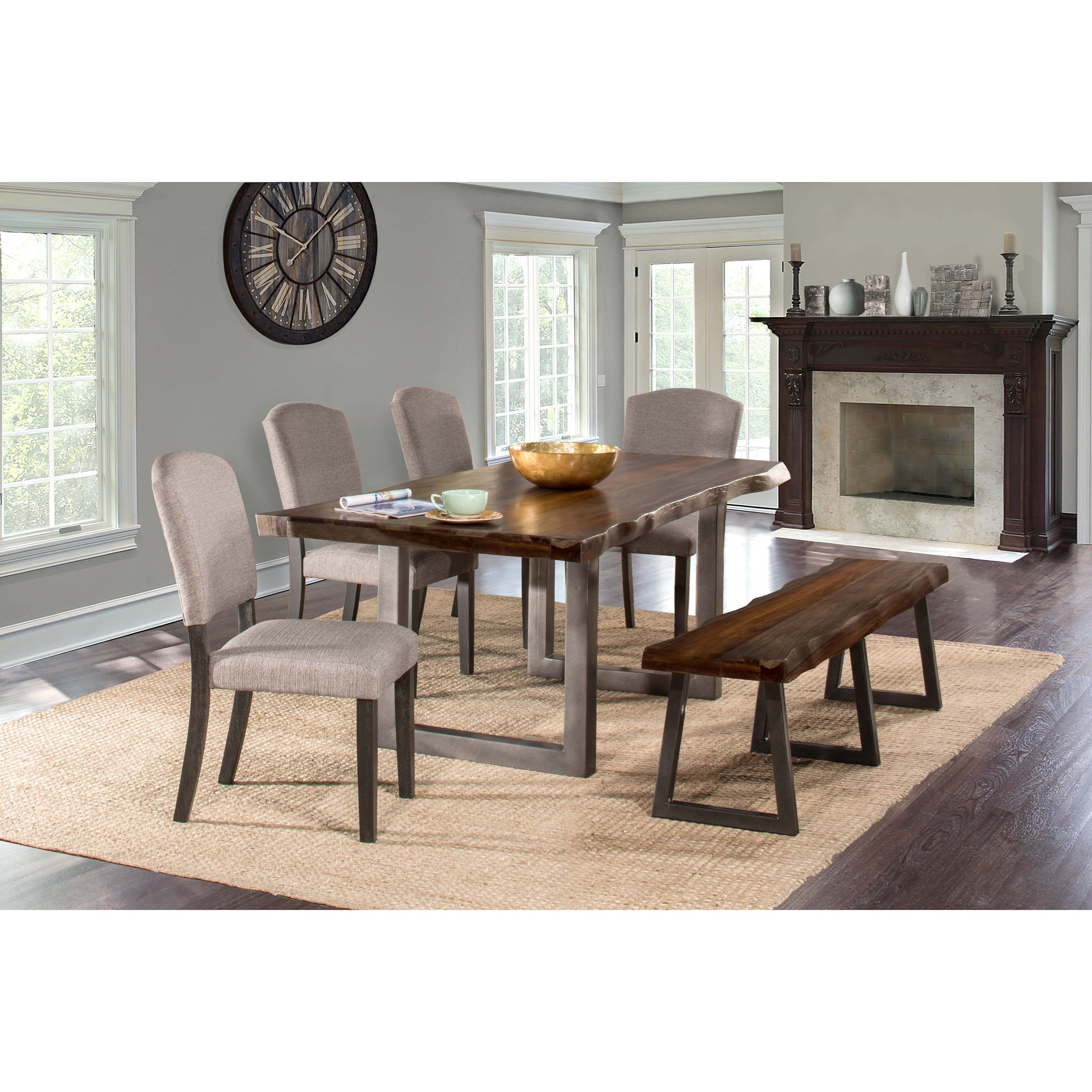 6-Piece Rectangle Dining Set