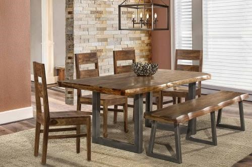 Emerson  Table, 4 Chair, and Bench by Hillsdale at Johnny Janosik