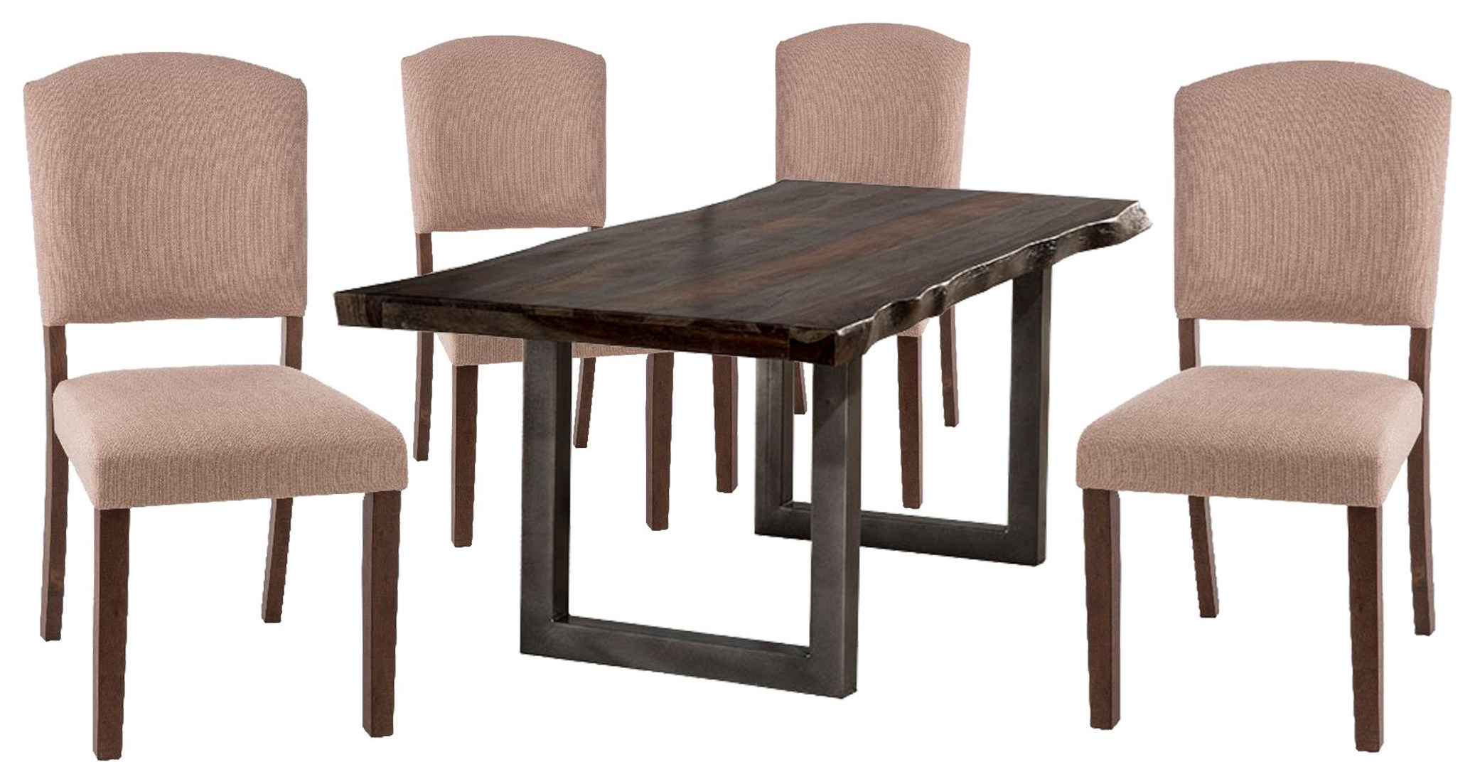Emerson Table and 4 Chairs by Hillsdale at Johnny Janosik