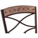 Hillsdale Emmons Dining Side Chair with X-Design