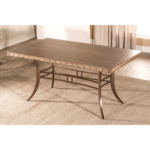 Hillsdale Emmons Rectangle Dining Table
