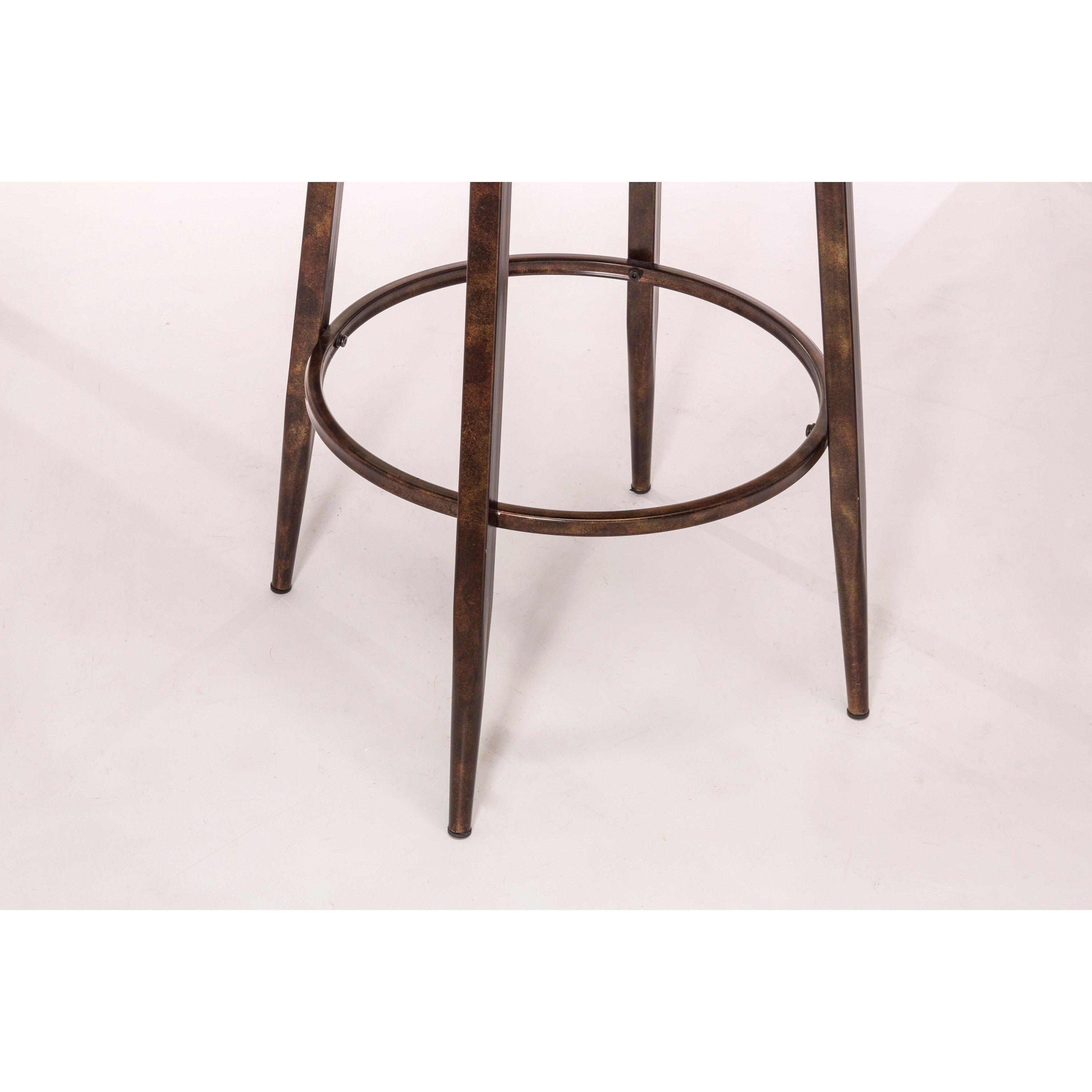 Hillsdale Emmons Swivel Bar Stool With Double X Design